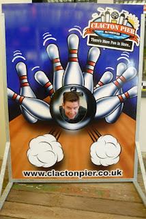 You can also go tenpin bowling on Clacton Pier