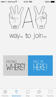 WAYme: find and meet up easily with your friends.