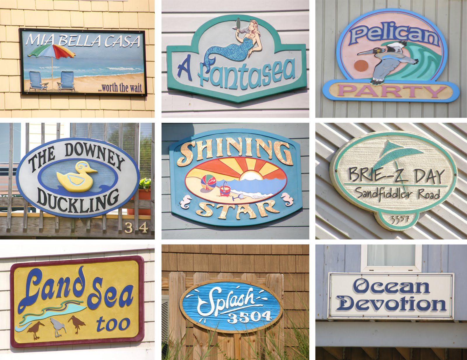 beach house names suggestions
