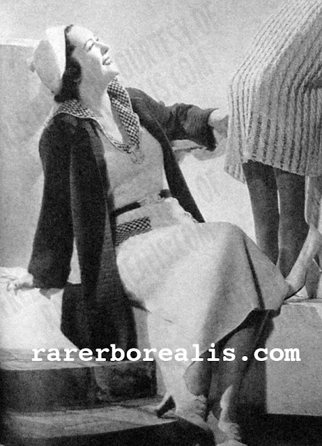 Free 1930's Knitting - Normandy Blouse & Coat