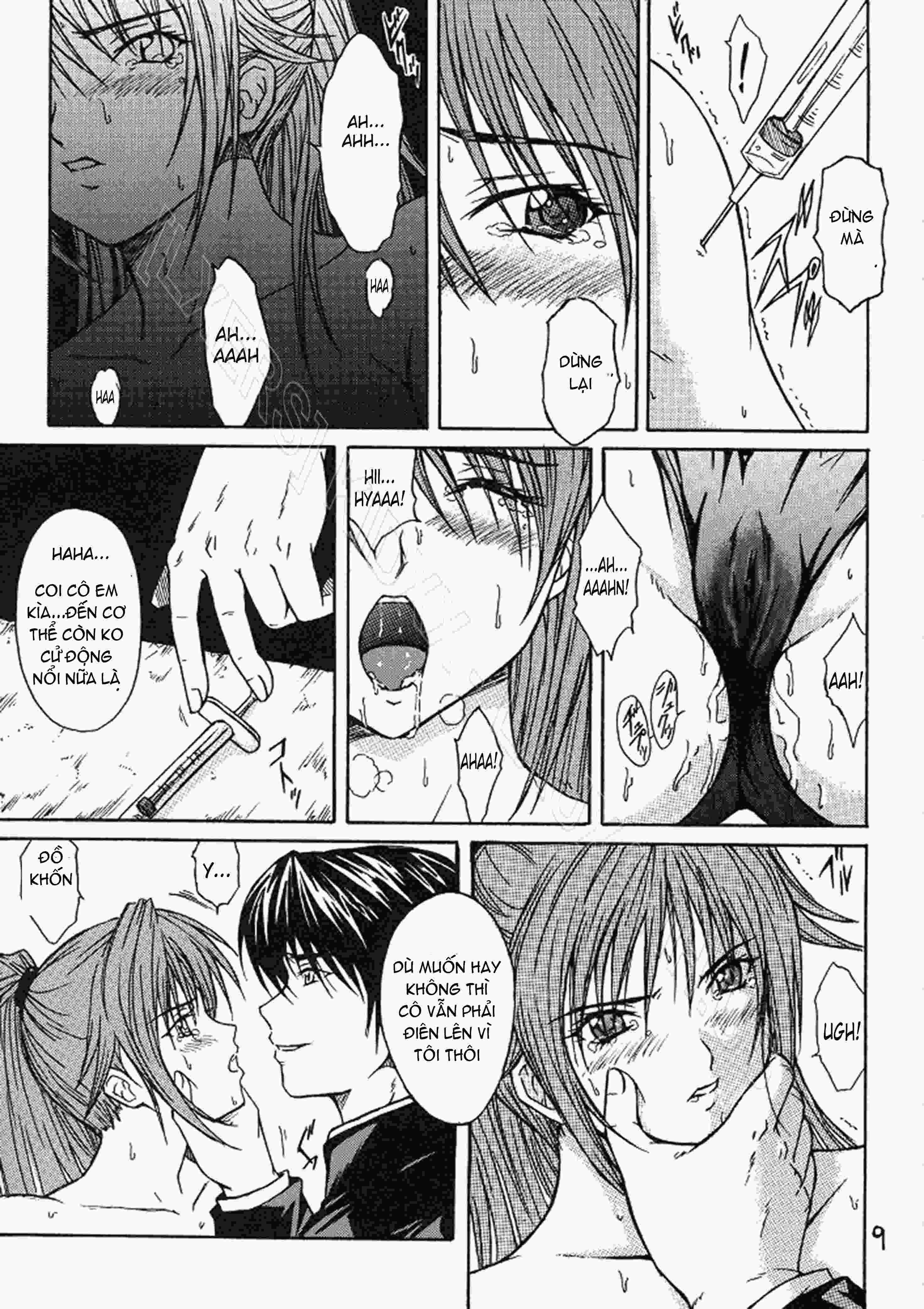 TruyenHay.Com - Ảnh 8 - Ryoujoku Rensa Chapter 1