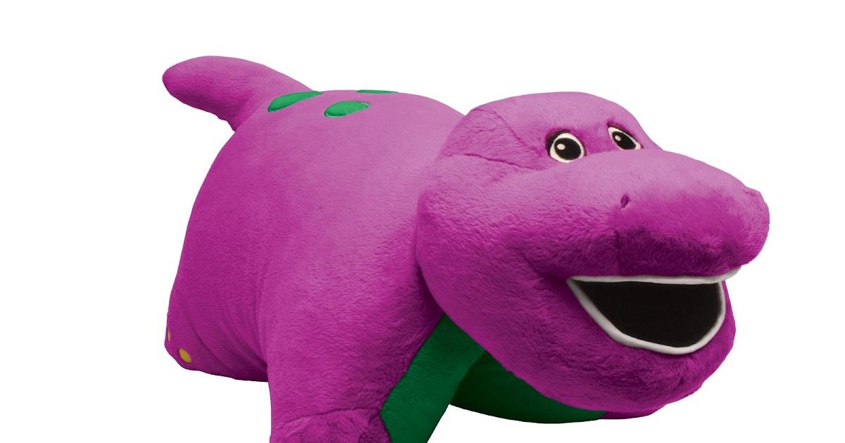 Barney Pillow Pet Pillow Pets