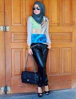 Jilbab Modis Dipakai Kerja