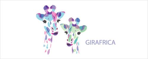 Girafrica Logo Design