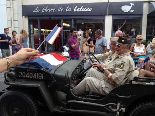 Cars in the Liberation of Cannes parade