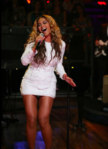 "Beyonce Performs ""Best Thing I Never Had"" On Jimmy Fallon (VIDEO)"