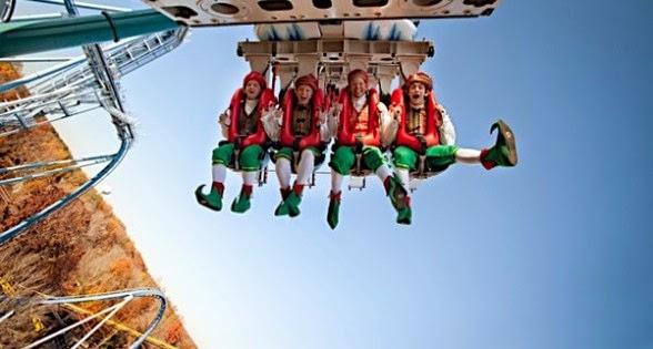 Natal no Busch Gardens 2014