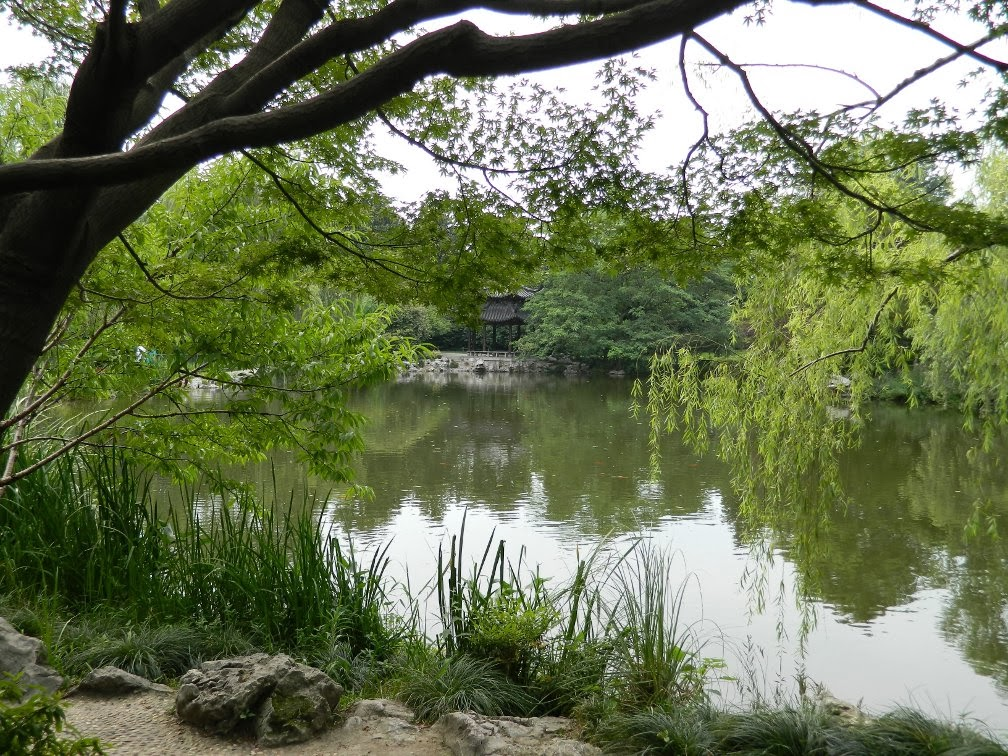 Flower Harbor Park West Lake Hangzhou garden muses-a Toronto gardening blog