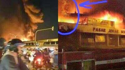 kebakaran pasar johar