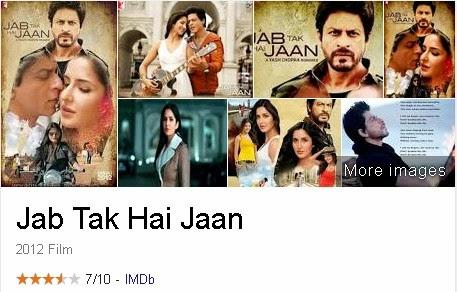 Jab Tak Hai Jaan - Film India (Bollywood) Terbaik Dan Terpopuler Sepanjang Masa