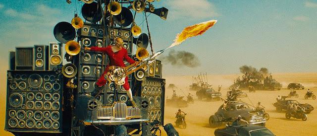 The Doof Warrior, the movie's grandest flourish
