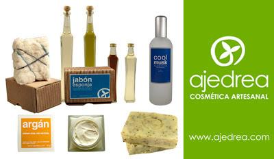 sorteo de ajedrea cosmética natural