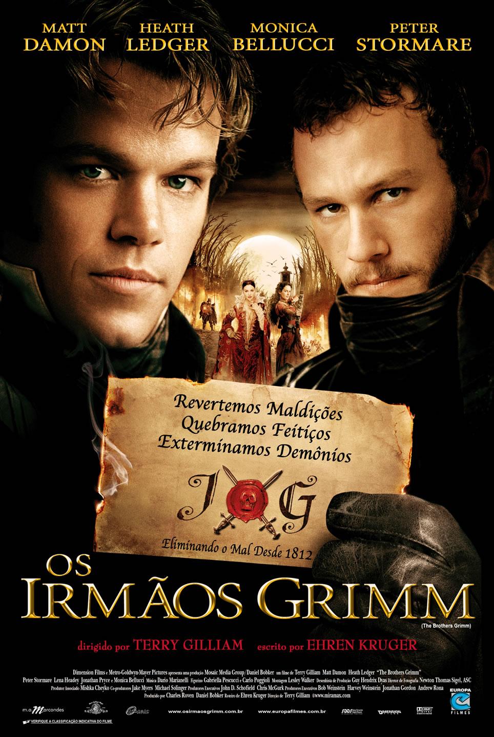 Os Irmãos Grimm – Dublado – 2006