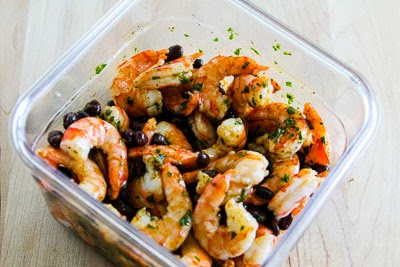 Shrimp and Black Bean Salad with Cilantro, Cumin, and Lime found on ...