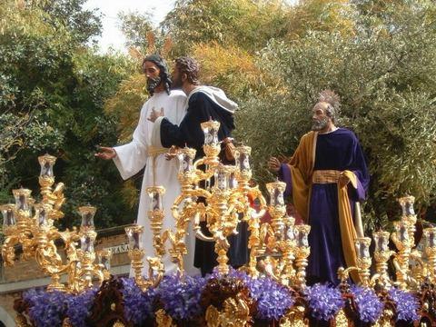 I Salida Procesional de la Agrupación Parroquial del Beso de Judas La+Redenci%C3%B3n+Sevilla