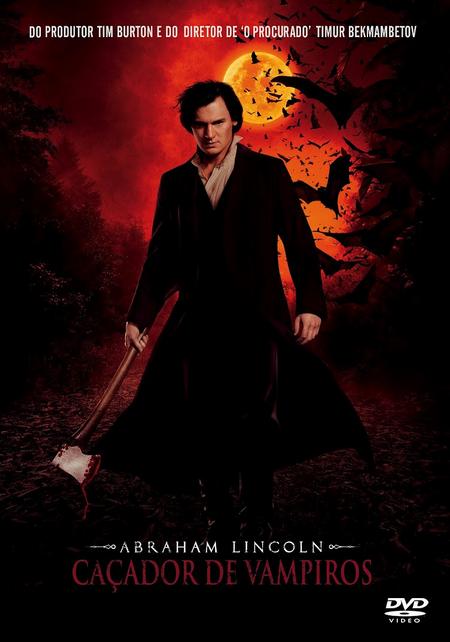 Filme Abraham Lincoln Caçador De Vampiros Dublado AVI DVDRip