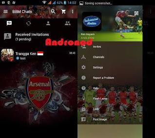 BBM Mod Arsenal v2.12.0.9 Apk Clone