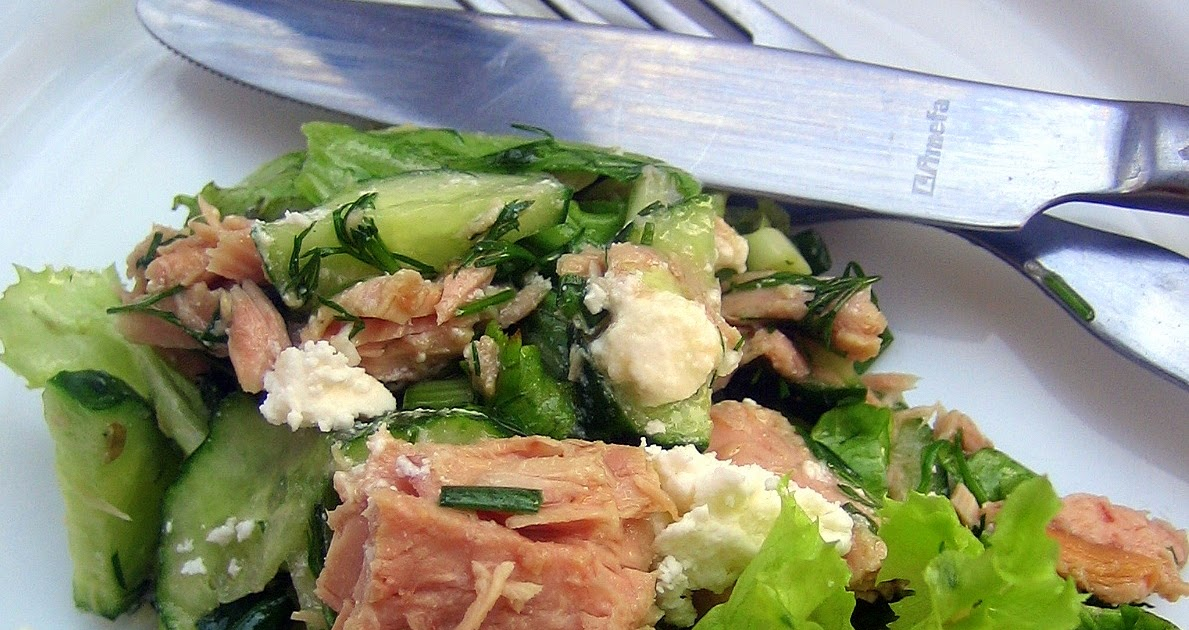 Салат с тунцом слоеный с фото