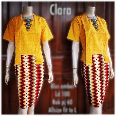 Kebaya Batik Modern Clara KBW 300