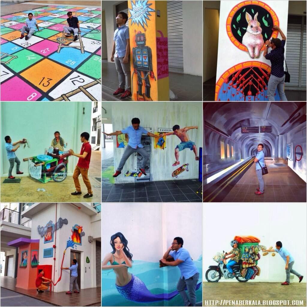 Visible voice artsphere the atmosphere seri kembangan for Mural yang cantik
