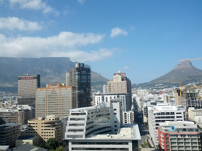 View from the Executive Club at the Westin Cape Town