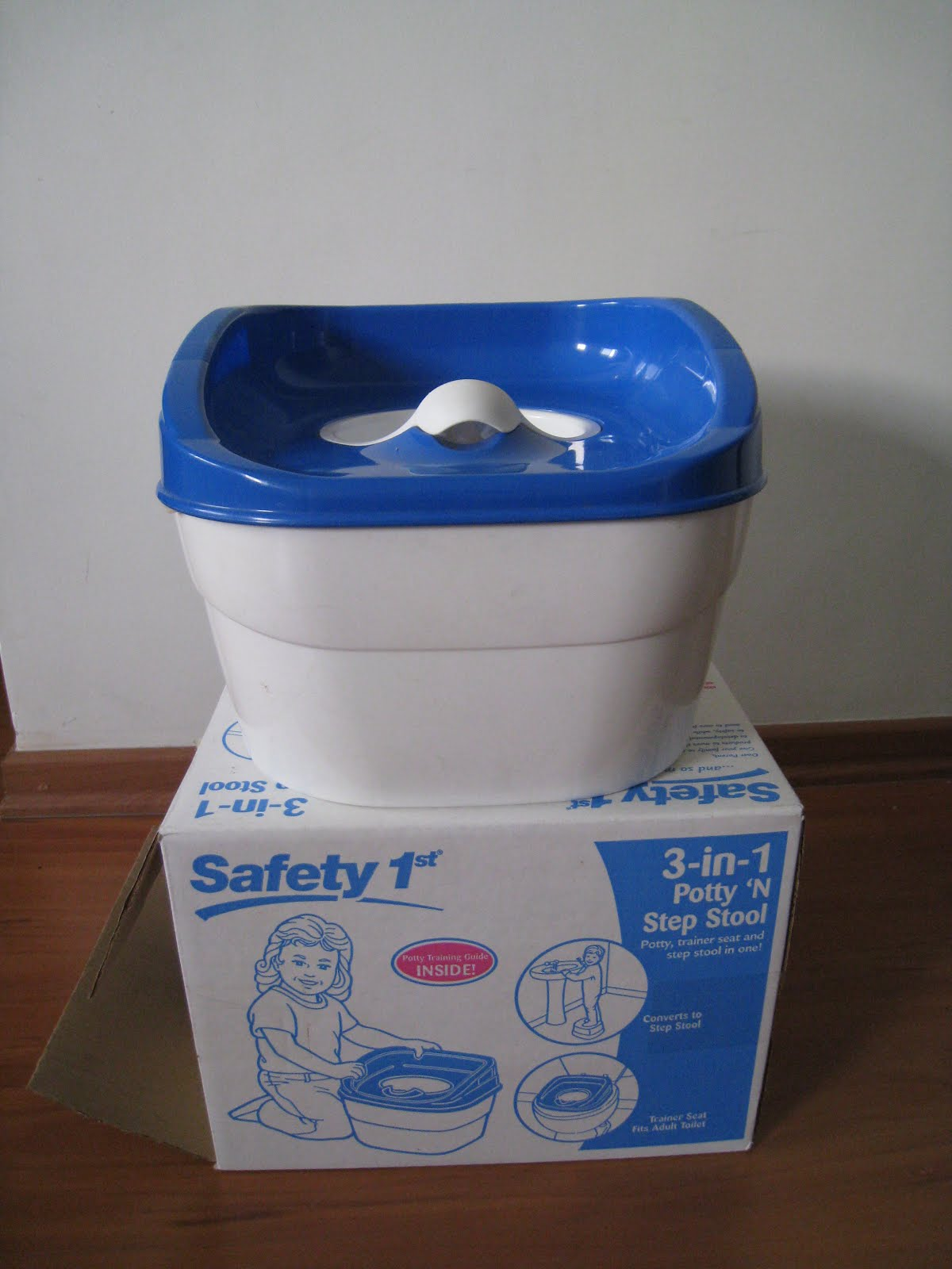 My Zakka Shop Used Safety 1st 3 In 1 Potty N Step Stool