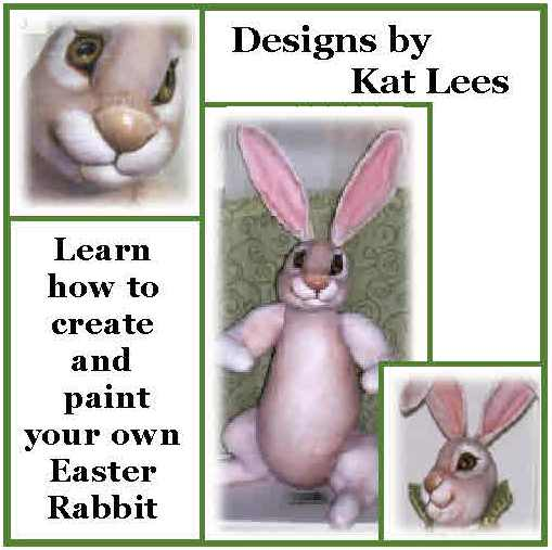 CREATE AND PAINT YOUR OWN RABBIT