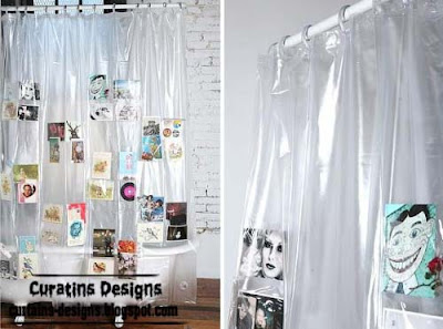 pockets shower curtain style 30 Creative shower curtains unique designs, styles, photos 2