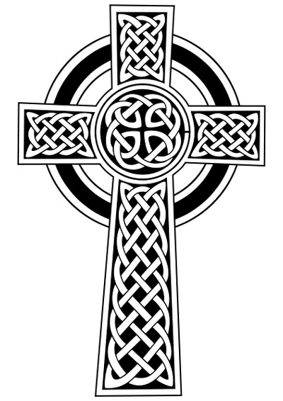 The celtic cross and Irish cross shape itself has been widely used by ...