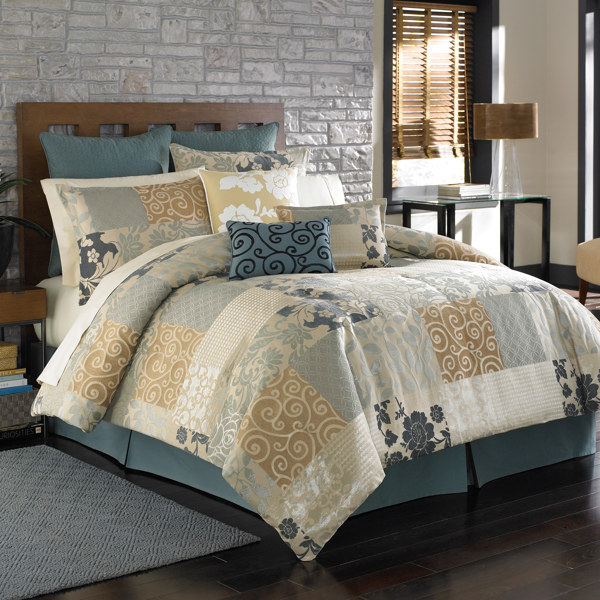 Bedding Comforters Pattern Bedroom 2011
