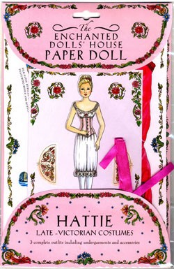 Enchanted Paper Dolls Hattie