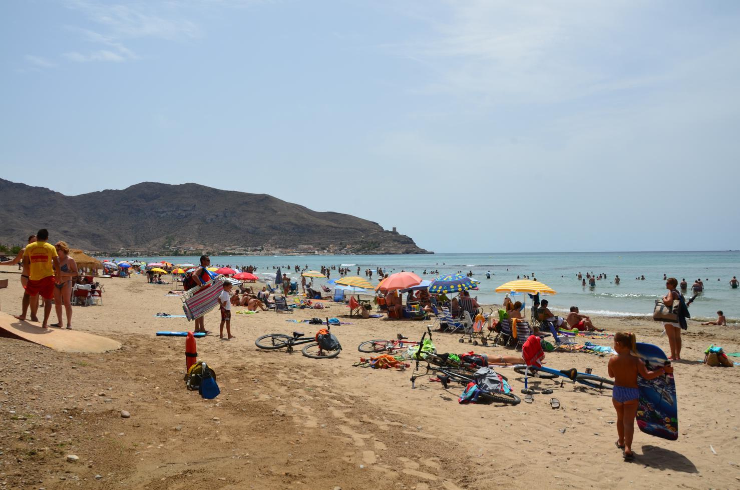 Resultado de imagen de san gines playa murcia