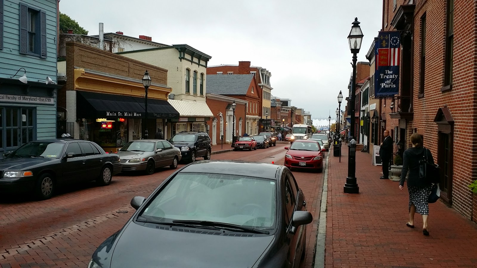 City Streets of Annapolis