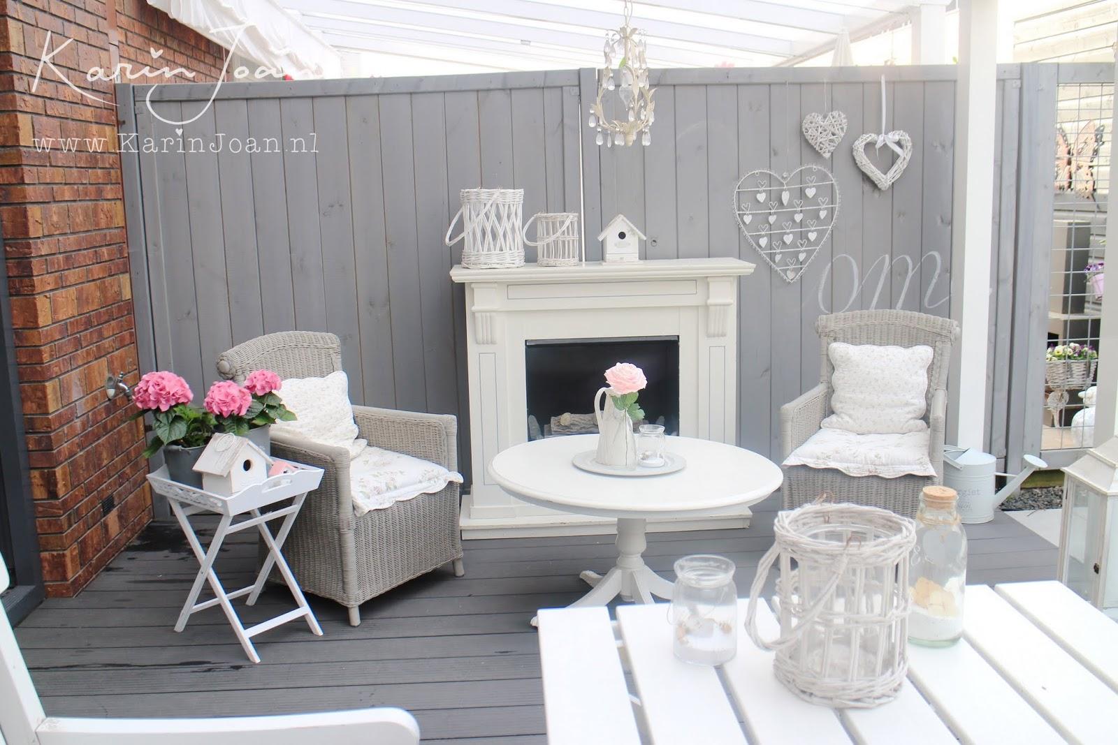 Karin joan rotan stoelen make over - Decoratie binnen veranda ...