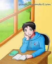 gambar Kartun manga Muslim