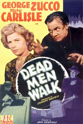 Poster - Dead Men Walk (1943)