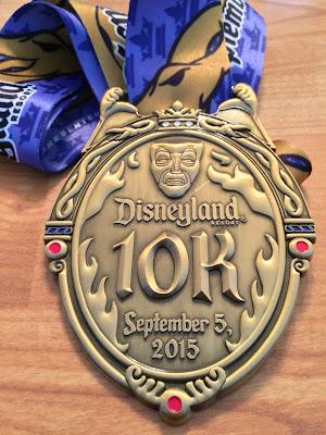 Disneyland10KMedal