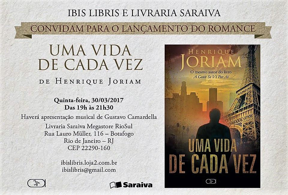30 de março, 19h: Rio de Janeiro
