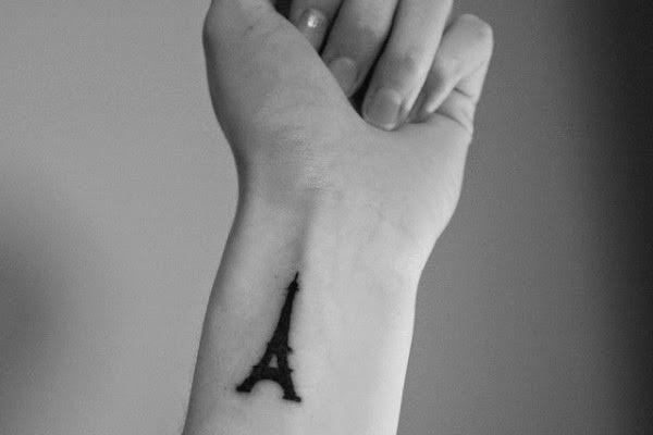 Mẫu hình xăm trên cổ tay ngón tay nhỏ đẹp cho nữ 11