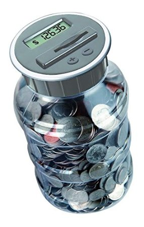 Gooogly web just scroll it to find something valuable digital counting coin bank savings jar - Counting piggy bank ...