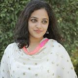 Nitya meenon Latest Photo Gallery in Salwar Kameez at New Movie Opening 11
