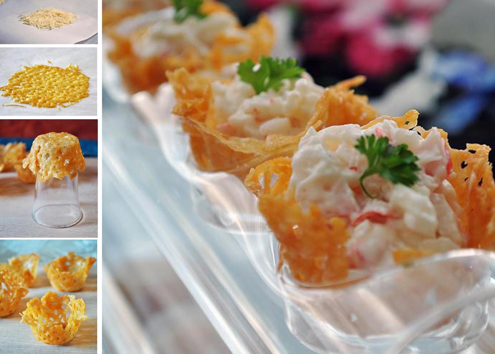 Рецепт сырной корзинки и салата для нее фото пошагово