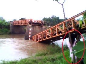 Foto Penampakan Kuntilanak Di Jembatan Nganjuk