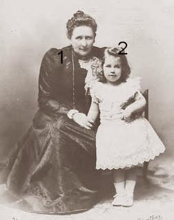Marie comtesse de Flandre et Marie Louise d'Orléans