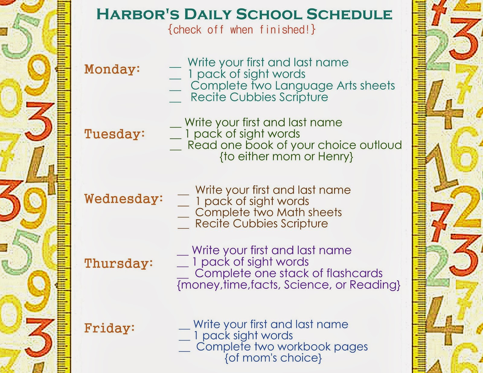 mccash family blog: how i homeschool harbor {our preschool tutorial}