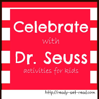 dr. Seuss, Dr. Seuss Activities, ready set read, images