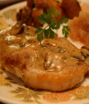 slow cooker dijon pork chops