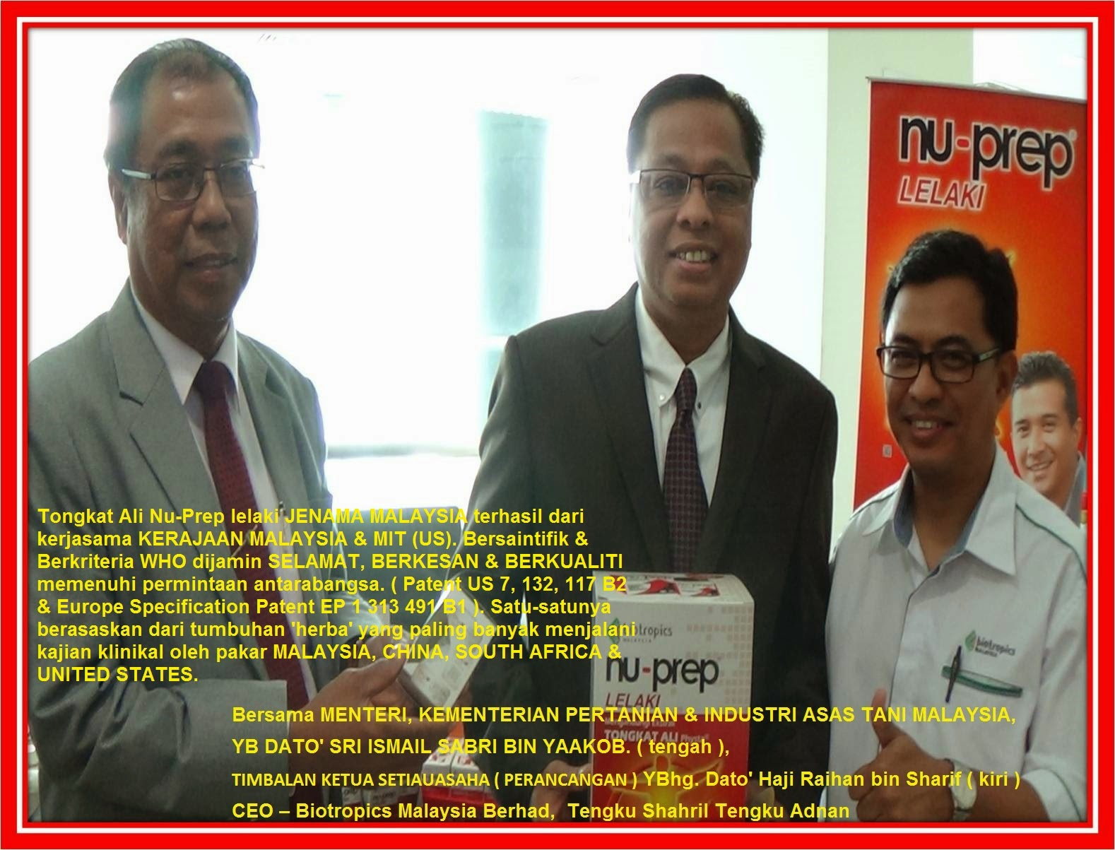 National Herbal Development Council / Majlis Pembangunan Herba Negara.( Nu-Prep USFDA-Approved)
