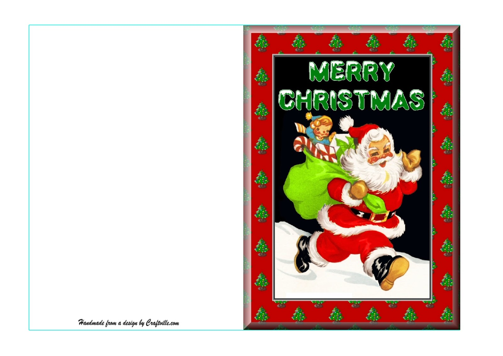 they have only just recently started putting on their site full card kits for you to print out as complete cards for christmas and other festivities - Christmas Card Print Out