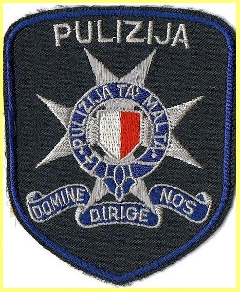 Escudo Policía Malta
